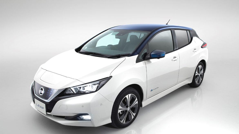 Nissan LEAF 2018 įkrovimo laikas