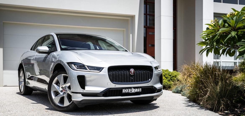 Jaguar i pace įkrovimo stotelė