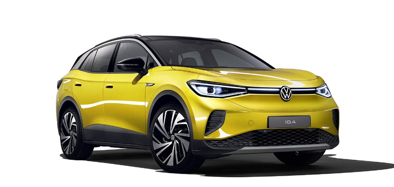 Volkswagen ID4 įkrovimas