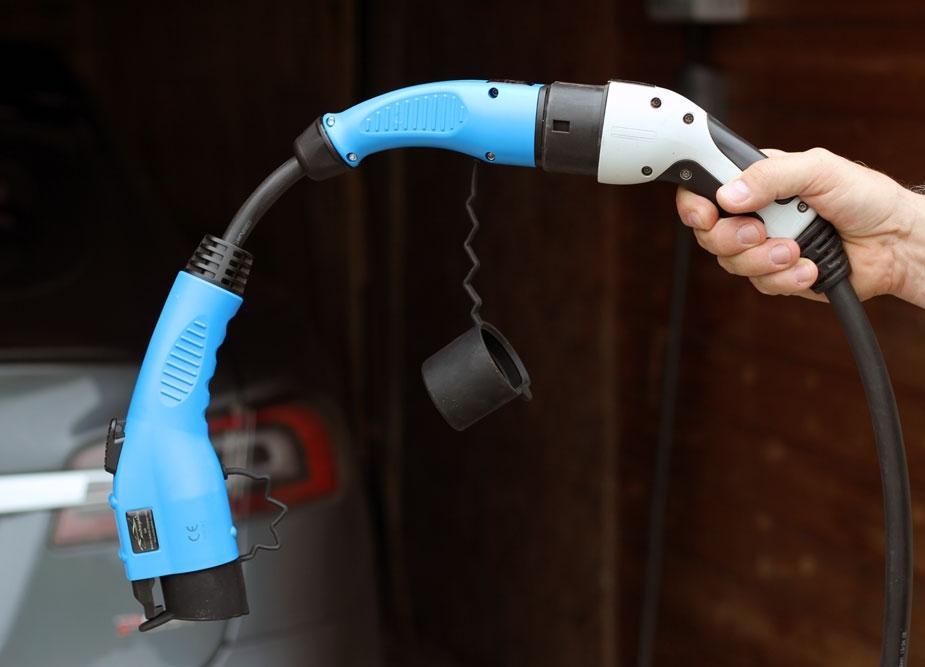 elektromobilio įkrovimo adapteris Type2 - Type1