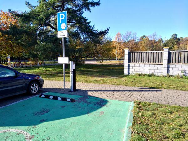 City Charge elektromobilių krovimo stotelė