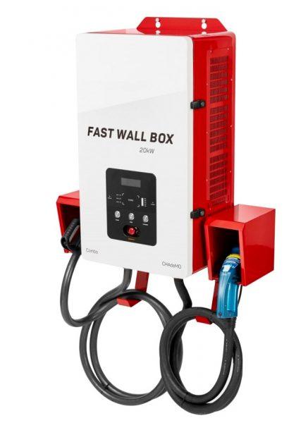 DC Wallbox FAST 20K CCS - CHAdeMO įkrovimo stotelė